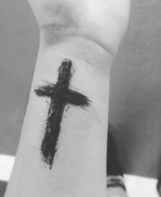 Tatuajes De Cruz En La Mano Para Hombres , Sollefe Tattoo