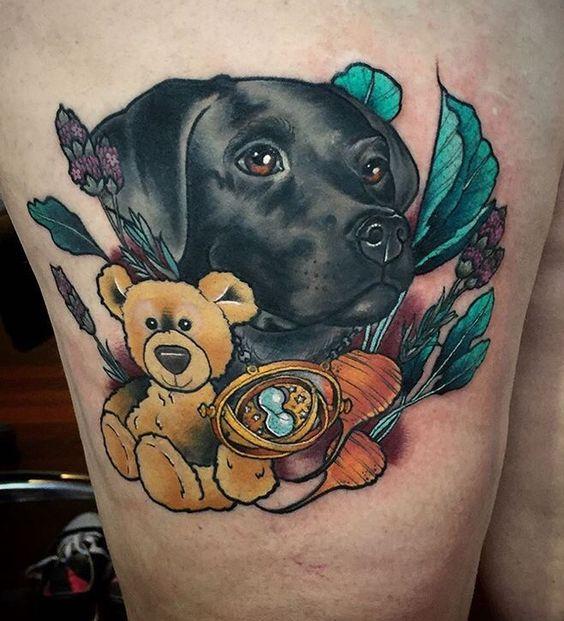 Tatuajes De Labradores (3)