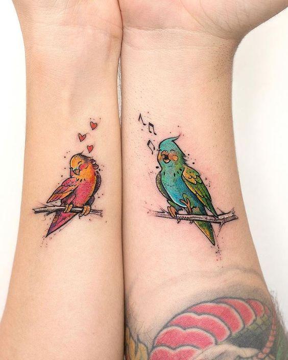 Tatuajes De Pajaros En Colores (6)