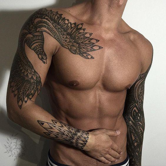 Tatuajes De Pajaros Hombres (7)