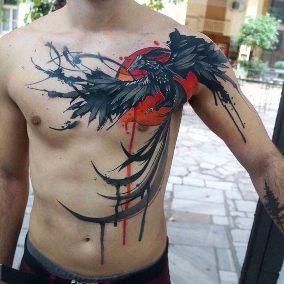 Tatuajes De Pajaros Hombres (8)