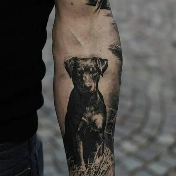 Tatuajes De Perros Para Hombres (1)