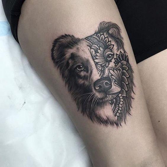 Tatuajes De Perros Para Mujeres (1)