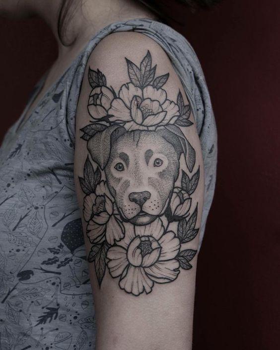 Tatuajes De Perros Para Mujeres (6)