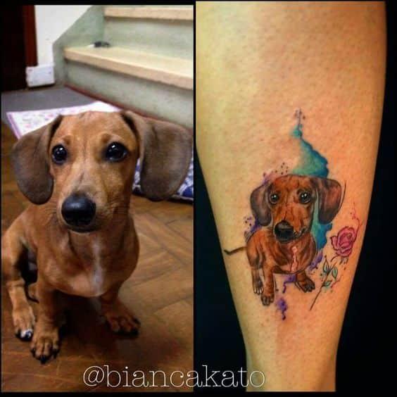Tatuajes De Perros Salchichas (3)