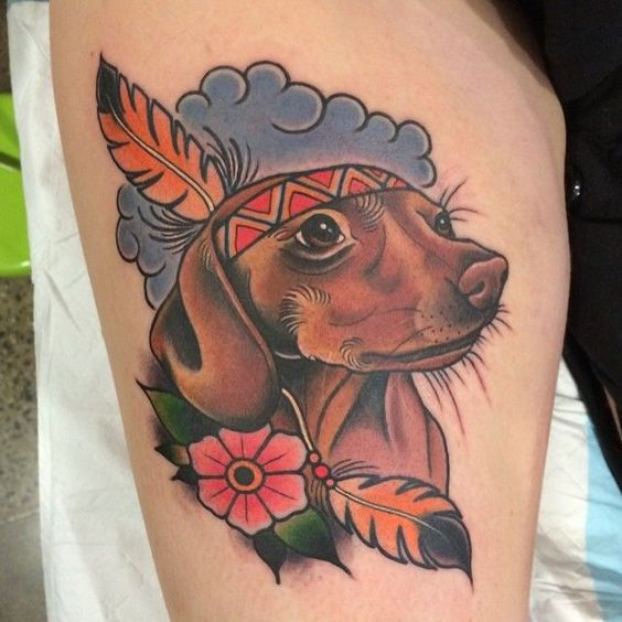 Tatuajes De Perros Salchichas (5)