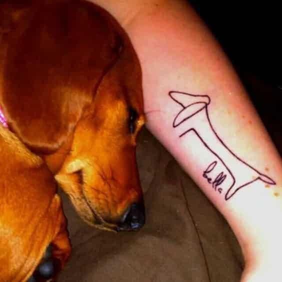 Tatuajes De Perros Salchichas (7)