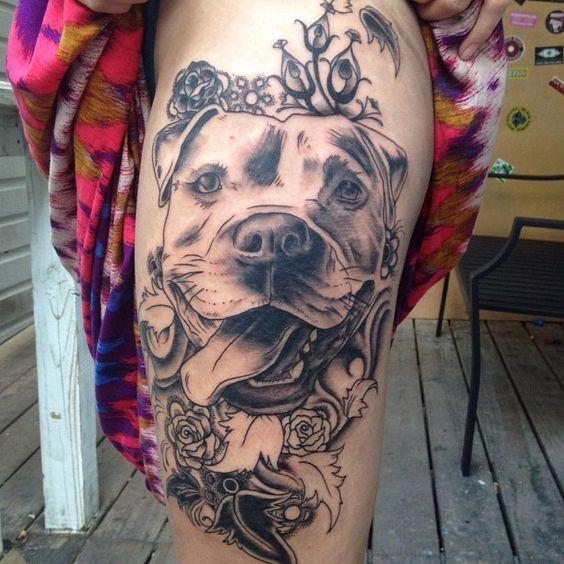 Tatuajes De Pitbulls (1)