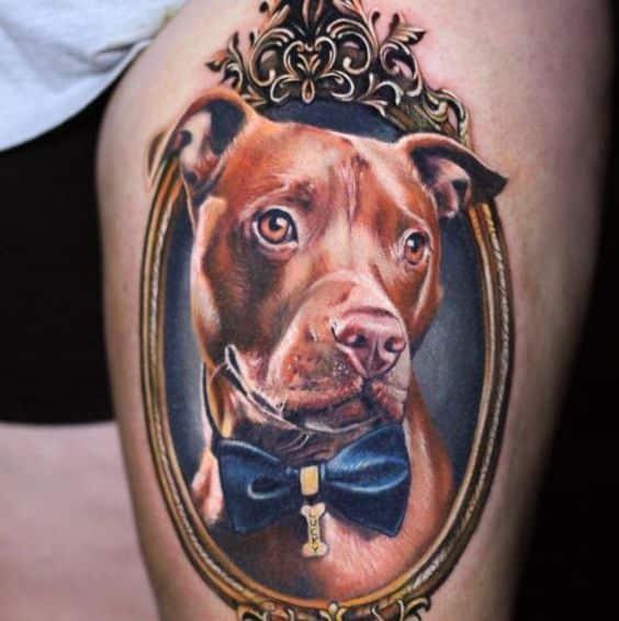 Tatuajes De Pitbulls (3)