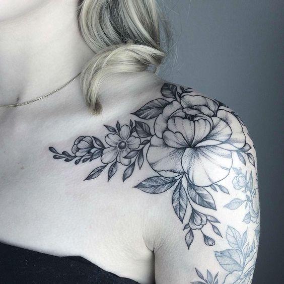 Tatuajes En Ehombro Mujeres (2)