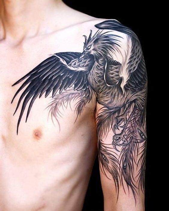 Tatuajes En El Hhombro Hombres (3)