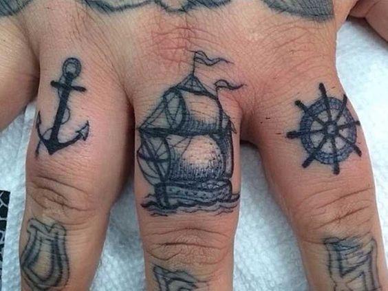 Tatuajes En Los Dedos Para Hombres (7)