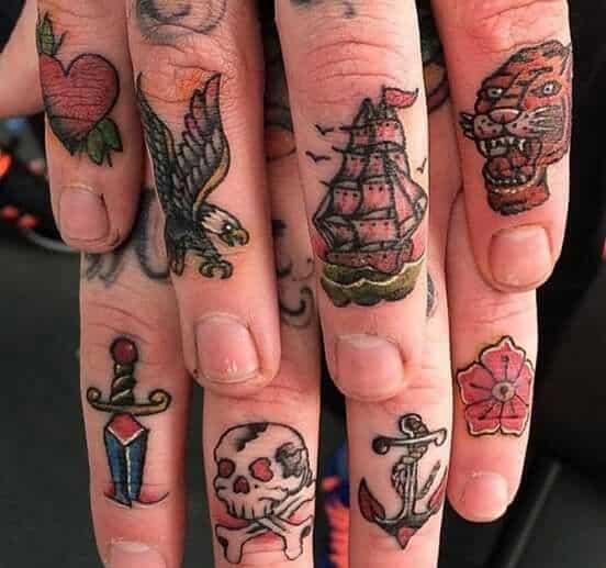 Tatuajes Hombres Dedos (2)