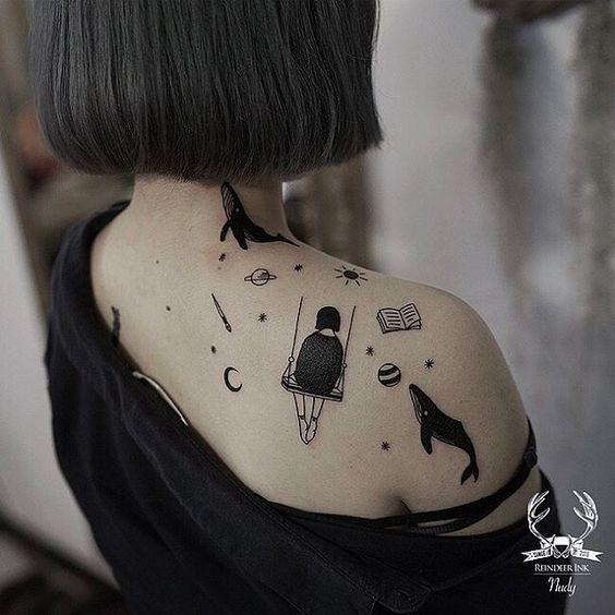 Tatuajes Para Mujeres En Los Hombros (5)