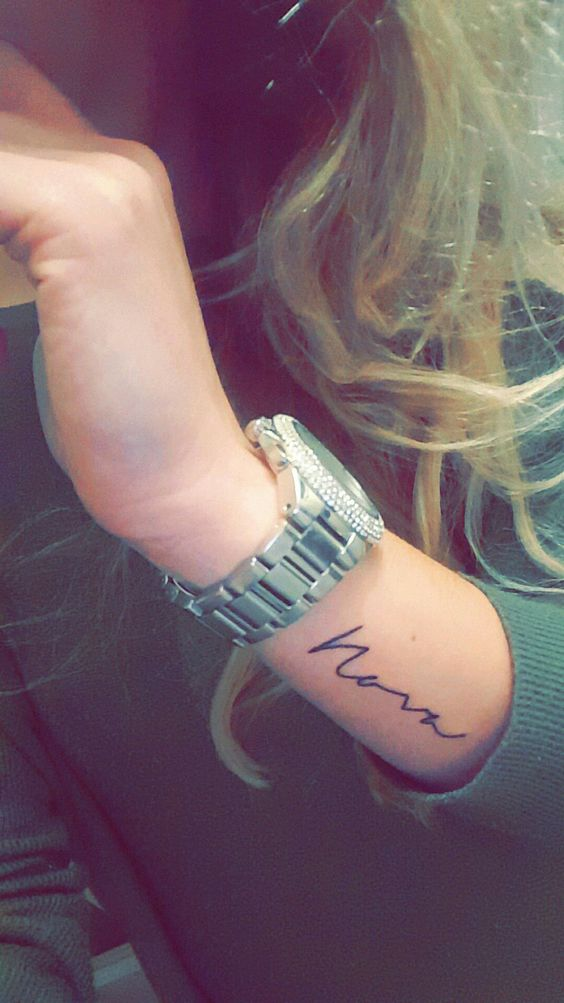 Tattoos De Nombres Mujer