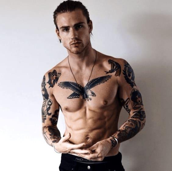 Tatuajes Para Hombres En El Cuello