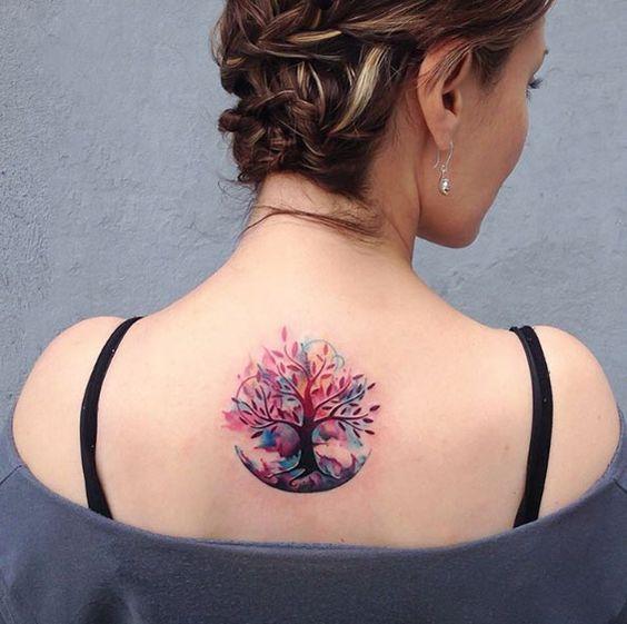 Arbolde La Vida Tatuajes En Espalda (2)
