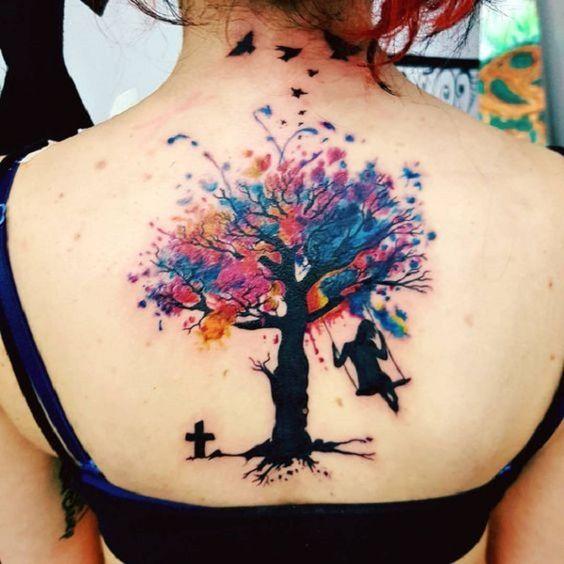 Arbolde La Vida Tatuajes En Espalda (3)