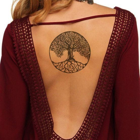 Arbolde La Vida Tatuajes En Espalda (4)