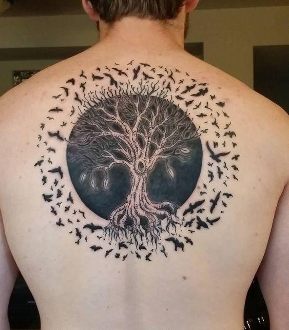Arbolde La Vida Tatuajes En Espalda (7)