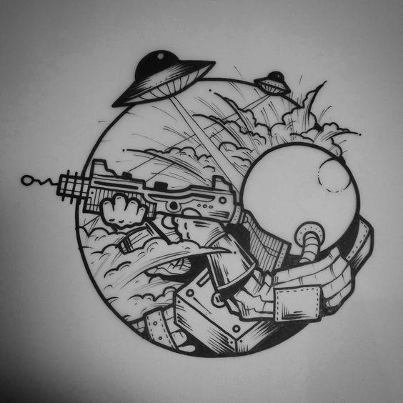 Dibujos A Lapiz Para Tatuajes (6)