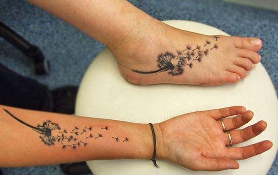 Diente De Leon Tatuaje En Hombres (4)