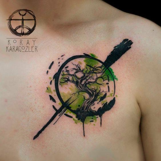 Hombres Con Tatuaje De Arbol De Vida (3)