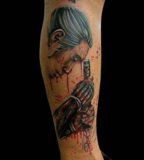 Samurais Tatuados En El Antebrazo (10)