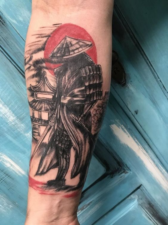 Samurais Tatuados En El Antebrazo (5)