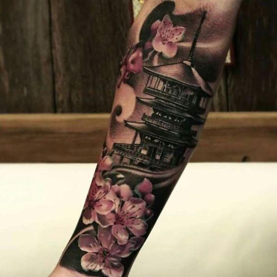 Samurais Tatuados En El Antebrazo (6)