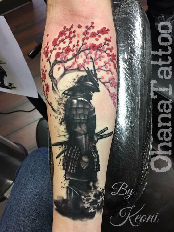 Samurais Tatuados En El Antebrazo (8)