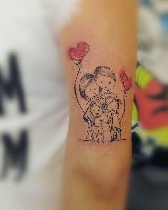 Simbolos En Tatuajes De Familia (8)