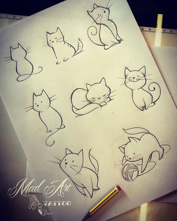 Zeichnen In 2019: Tatuajes De Dibujos 【Diseños Bosquejos Dibujos Animados En