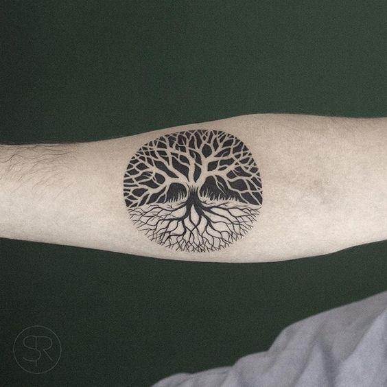 Tatuajes Arbol De Vida Brazo (2)