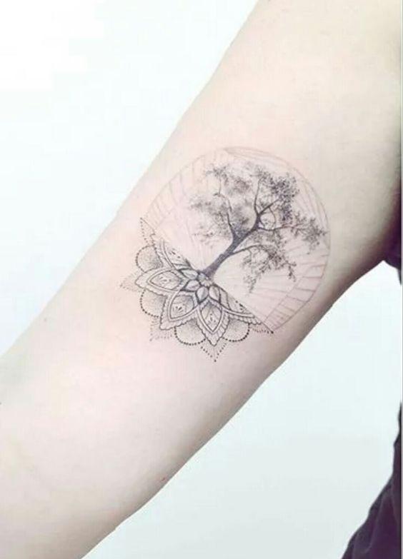 Tatuajes Arbol De Vida Brazo (4)
