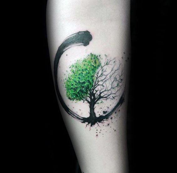 Tatuajes Arbol De Vida Brazo (5)