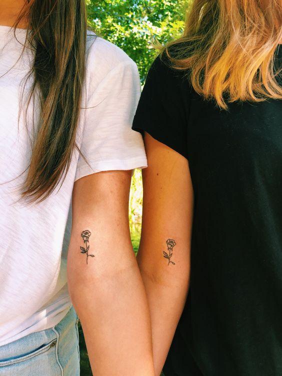 Tatuajes De Amigas En Los Brazos (2)