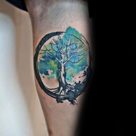 Tatuajes De Arbol De La Vida En Mujeres (1)