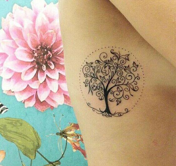 Tatuajes De Arbol De La Vida En Mujeres (3)