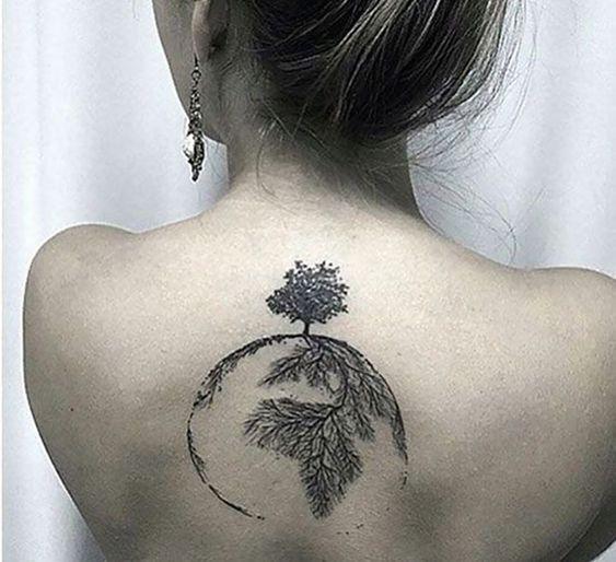 Tatuajes de Árbol de la Vida 【Y sus Diferentes Significados】