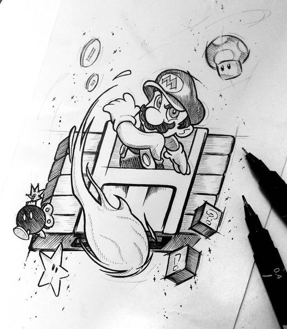 Tatuajes De Dibujos Animados Para Hombres (3)