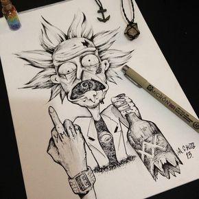 Tatuajes De Dibujos Animados Para Hombres (5)