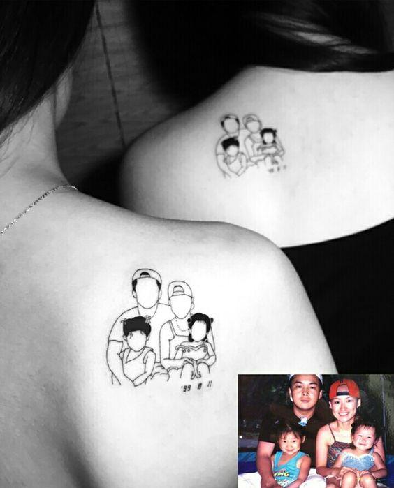 Tatuajes De Familia Que Simbolizan Unidad (6)