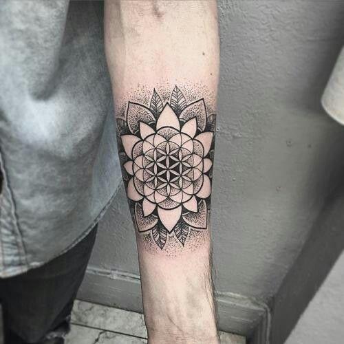 Tatuajes De Flor De Loto Hombres (2)