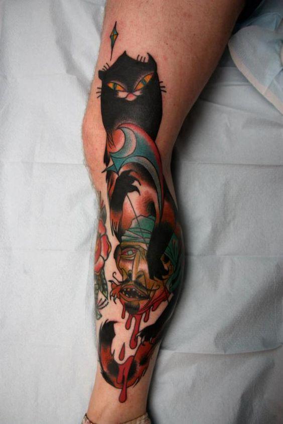 Tatuajes De Gatos En Hombres (5)