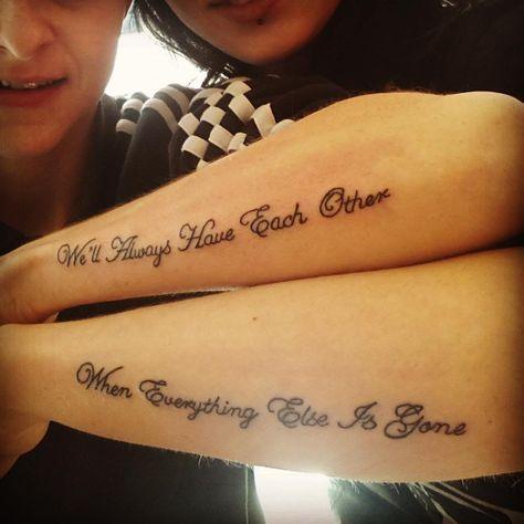 Tatuajes Para Hermanos Diseños Y Estilos Con Gran Significado