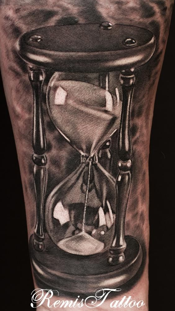 Tatuajes De Relojes De Arena (17)