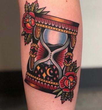 Tatuajes De Relojes De Arena (19)