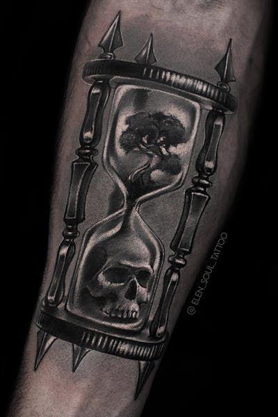 Tatuajes De Relojes De Arena (2)