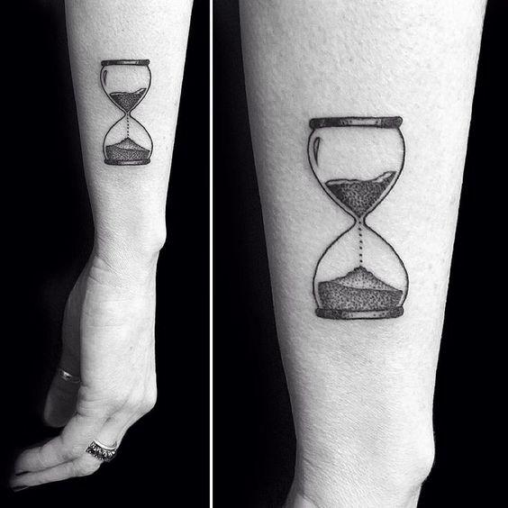 Tatuajes De Relojes De Arena (21)